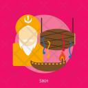 Sikh Day Celebrations Icon
