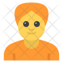 Sikh Male Avatar Human Icon