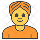 Sikh Male Avatar Human Icon