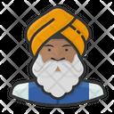 Sikh Indian Turban Icon
