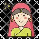 Sikh Woman Icon