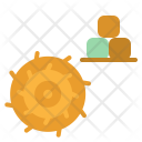 Silage Grass Field Icon