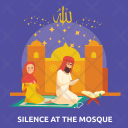 Silence At The Mosque Icon
