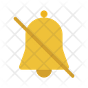 Silent Mute Bell Icon