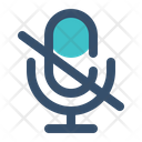 Silent Mute Microphone Icon