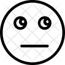 Emoji Silent Simple Emoji Icon