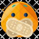 Secret Emoji Face Icon