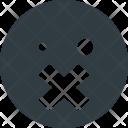 Silent emoji Icon
