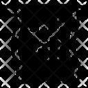 Silk Fiber Material Icon