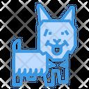 Silky Dog Icon