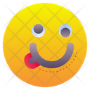 Silly Crazy Emoticon Icon