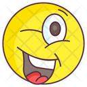 Silly Emoji Silly Expression Emotag Icon