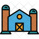 Factory Silo Storage Icon
