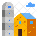 Silo Farming Farm Icon
