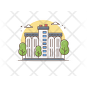 Silo Farmhouse Warehouse Icon