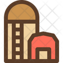 Silo Storage Farming Icon