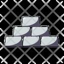 Silver Bullions Precious Icon