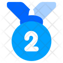 Silver Medal Second Icon