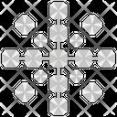 Silver Acrylic Icon