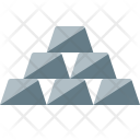 Silver bars Icon