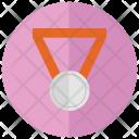 Silver Medal Award Icon