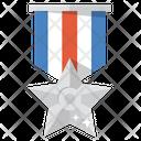 Silver Medal Award Medal Icon