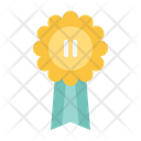 Silver Medal Award Trophy Icon