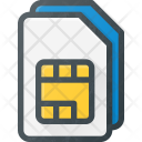 Sim Card Mobile Icon