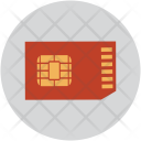 Sim Card Communication Icon