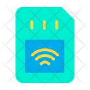 Smart Sim Automation Internet Of Things Icon