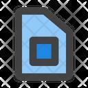 Sim Card Cellular Icon