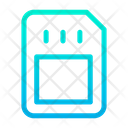 Card Data Cellular Data Icon