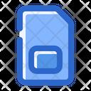 Sim Card Mobile Card Icon
