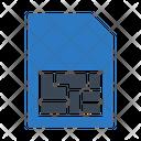 Sim Phone Card Icon