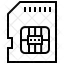 Sim Card Phone Icon