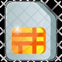 Phone Card Sim Card Subscriber Identity Module Icon