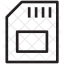 Sim Card Sd Icon