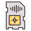 Sim Card Electronics Icon