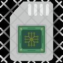 Sim Card Memory Icon