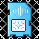 Sim Card Mobile Icon