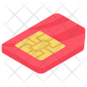 Sim Mobile Sim Microchip Icon