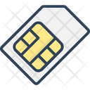 Chip Integrated Chip Phone Sim Icon
