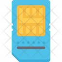 Sim Card Data Icon