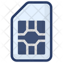 Simcard Microsim Subscriber Identity Module Icon