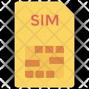 Sim Chip Card Icon