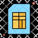 Simcard Sim Mobile Icon