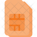 Sim Card Dual Icon