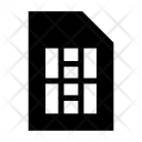 Simcard Data Internet Icon