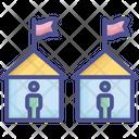 Habitation House Neighborhood Icon