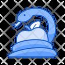 Sin Snake Apple Icon